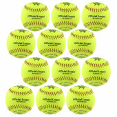 1 Dutzend Benson VSPB12Y Softball 12 (Soft)