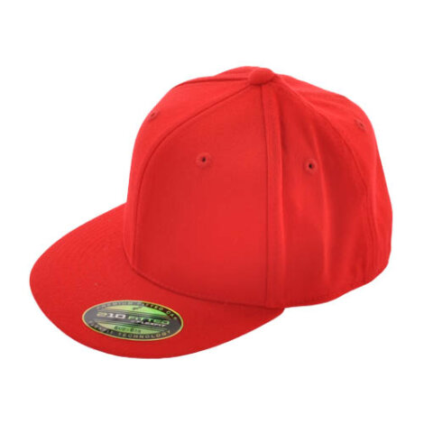 Flexfit 210 Fitted Cap Rot
