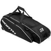 Baseballtasche Worth Wheeled Tournament Bag Schwarz